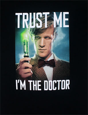 Trust Me I'm The Doctor - Dr. Who T-shirt