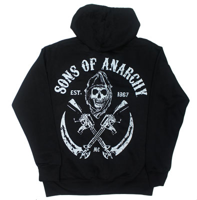 Sons And Guns - Sons Of Anarchy Hooded Sweatshirt