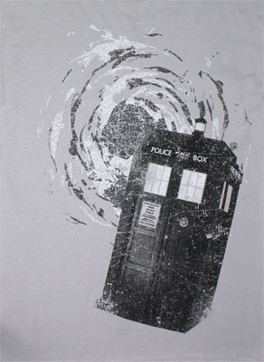The Tardis - Dr. Who T-shirt