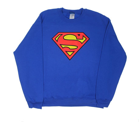 Superman Logo - DC Comics Hooded Sweatshirt