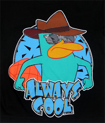 Always Cool - Phineas And Ferb Juvenile T-shirt