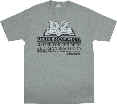 Center For Children Who Can't Read Good - Zoolander T-shirt