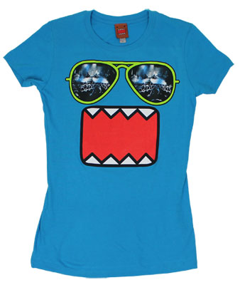 Concert Shades - Domo-Kun Sheer Women's T-shirt