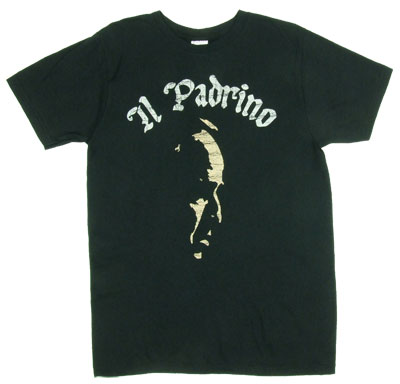Godfather Il Padrino Mens Tee