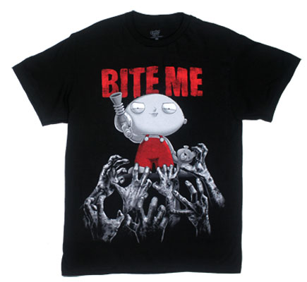 Bite Me - Family Guy T-shirt