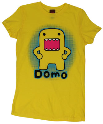 Domo Glow - Domo-Kun Sheer Women&#039;s T-shirt