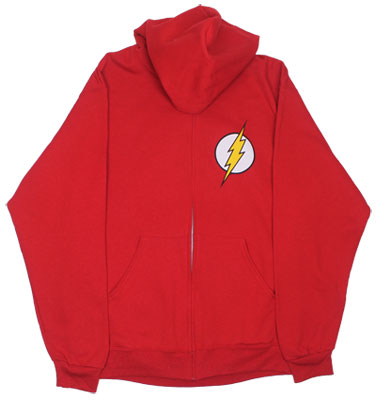 Flash Logo - DC Comics Hooded Sweatshirt