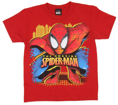Spider Pounce - Spider-Man - Marvel Comics Juvenile T-shirt