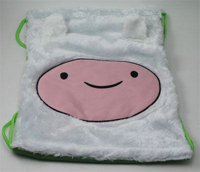 Finn Face - Adventure Time Book Bag