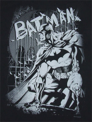 Perched Bat - DC Comics T-shirt