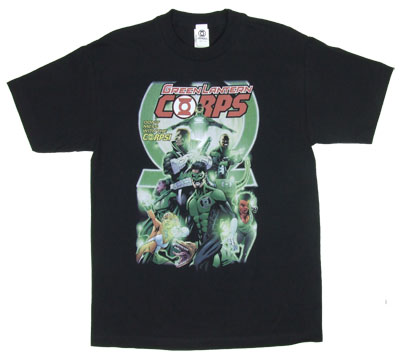 Green Lantern Corps # 25 - DC Comics T-shirt