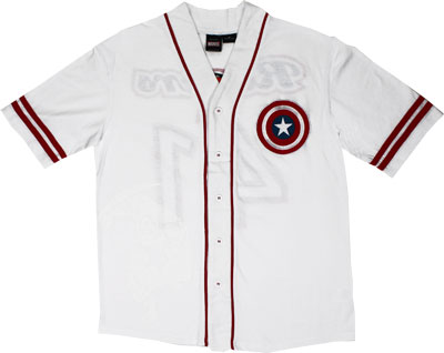 Rogers - Marvel Comics Baseball Jersey
