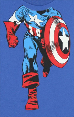 Captain America Body - Marvel Comics Toddler T-shirt