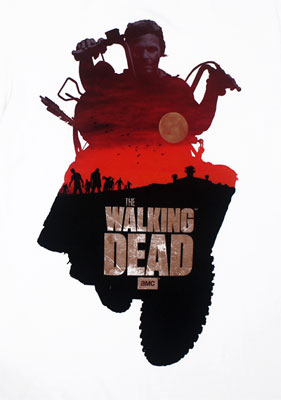 Daryl Sunset - Walking Dead T-shirt
