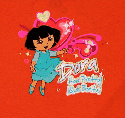 Que Bonita - Dora The Explorer Toddler T-shirt