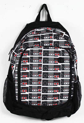 Nintendo Controllers All Over - Nintendo Backpack