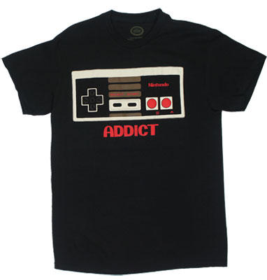 Addict - Nintendo T-shirt