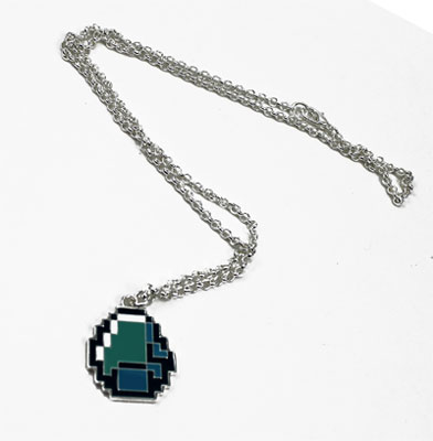 Diamond - Minecraft Necklace