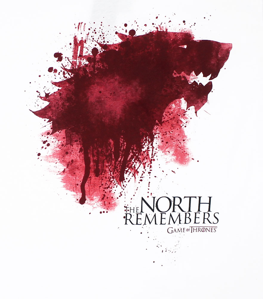 The North Remembers - Game Of Thrones T-shirt