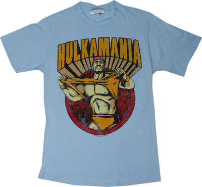 Hulkamania - Hulk Hogan Sheer T-shirt