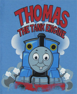 Blue Sky - Thomas The Tank Engine Toddler T-shirt