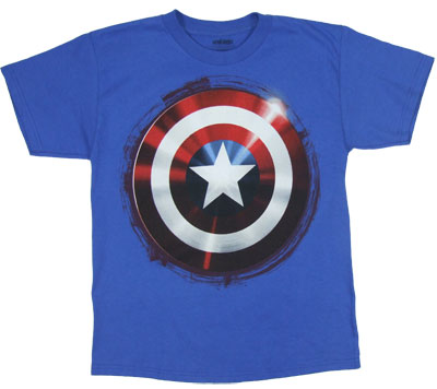 Shield - Captain America Boys T-shirt