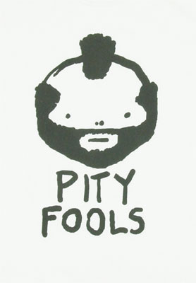 Pity Fools - Mr. T Sheer T-shirt
