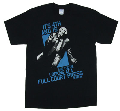 Full Court Press - Naked Gun T-shirt