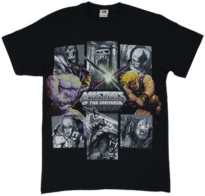 Skeletor Vs. He-Man - He-Man T-shirt