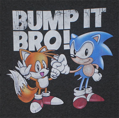 Bump It Bro! - Sonic The Hedgehog T-shirt