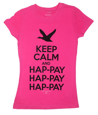 Keep Calm - Duck Dynasty Juniors T-shirt