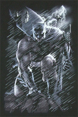 In The Rain - Batman - DC Comics T-shirt