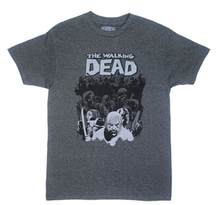 Chased By The Herd - Walking Dead T-shirt