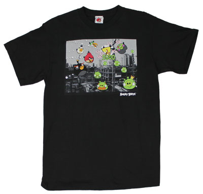 Real Angry - Angry Birds T-shirt