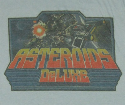 Asteroids Deluxe - Atari Photo-Sheer T-shirt
