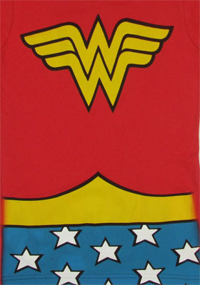 Wonder Woman Costume - DC Comics T-shirt