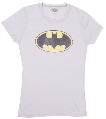 Batman Logo - DC Comics Sheer Women's T-shirt