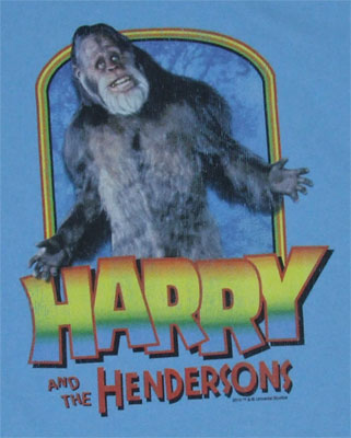 Meet Harry - Harry And The Hendersons T-shirt