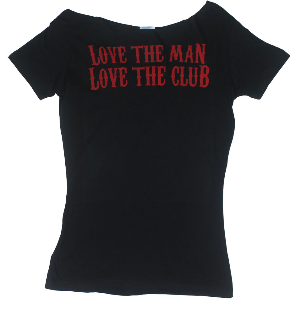 Love The Man - Sons Of Anarchy Scoop-Neck Juniors T-shirt