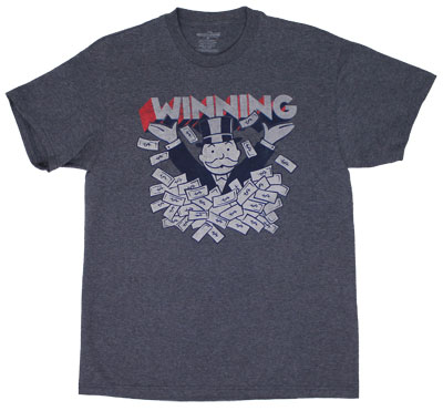 Winning - Monopoly T-shirt