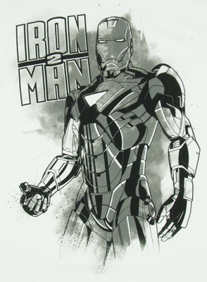 Iron Man Sketch - Iron Man 2 T-shirt