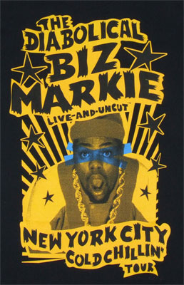 The Diabolical - Biz Markie T-shirt