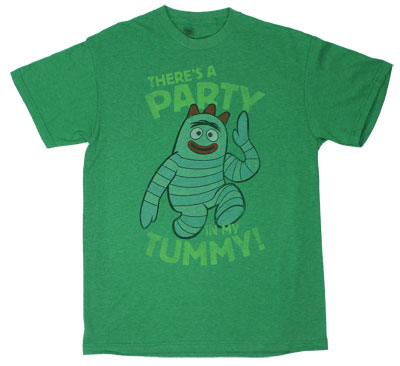 Party In My Tummy - Yo Gabba Gabba! T-shirt