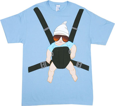 Baby Carrier - The Hangover T-shirt