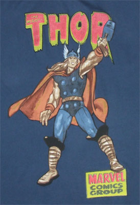 Thor Core - Marvel Comics Sheer T-shirt