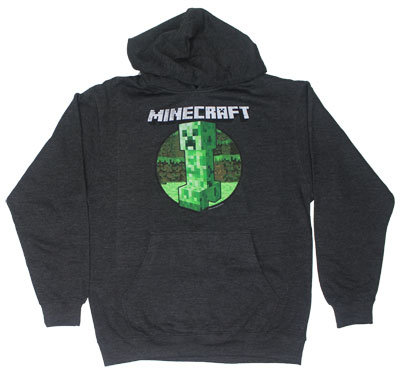 Retro Creeper - Minecraft Hooded Sweatshirt