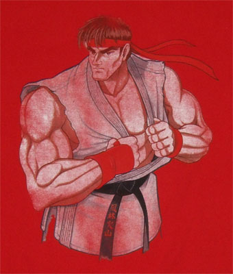 Ryu - Street Fighter Sheer T-shirt
