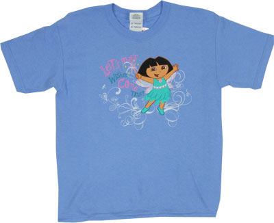 Let&#039;s Make Wishes Come True - Dora The Explorer Youth T-shirt