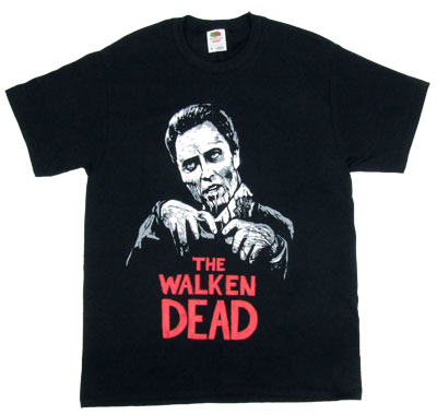 The Walken Dead - Christopher Walken T-shirt