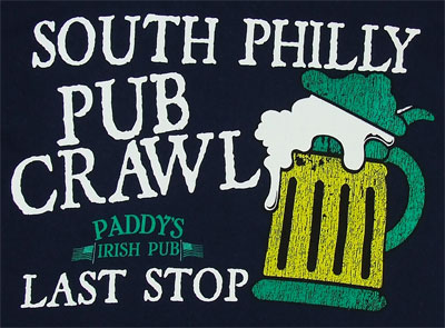 South Philly Pub Crawl - It's Always Sunny In Philadelphia T-shirt
